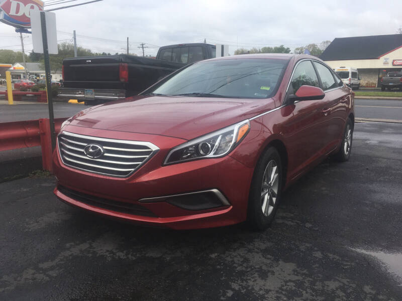 2016 Hyundai Sonata for sale at MELILLO MOTORS INC in North Haven CT