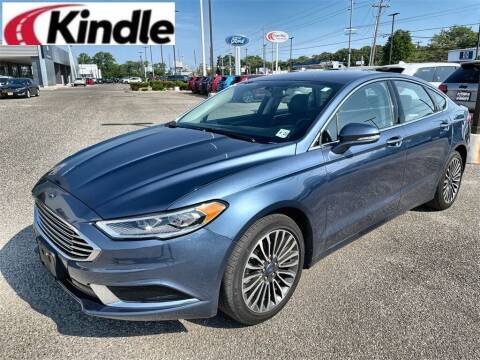 2018 Ford Fusion for sale at Kindle Auto Plaza in Middle Township NJ