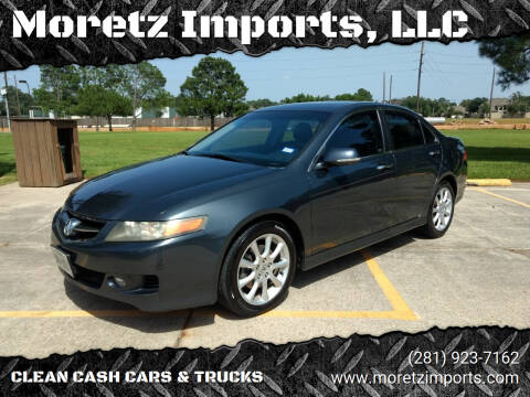 2006 Acura TSX for sale at Moretz Imports, LLC in Spring TX