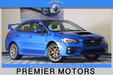 2015 Subaru WRX for sale at Premier Motors in Hayward CA