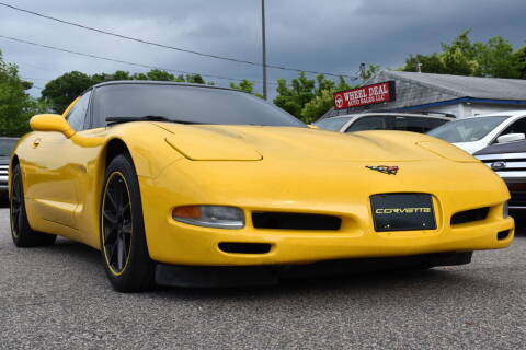 2002 Chevrolet Corvette for sale at Wheel Deal Auto Sales LLC in Norfolk VA