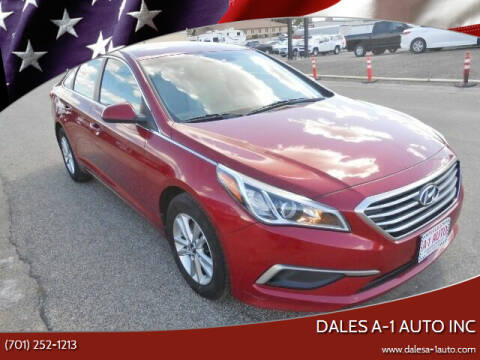 2016 Hyundai Sonata for sale at Dales A-1 Auto Inc in Jamestown ND