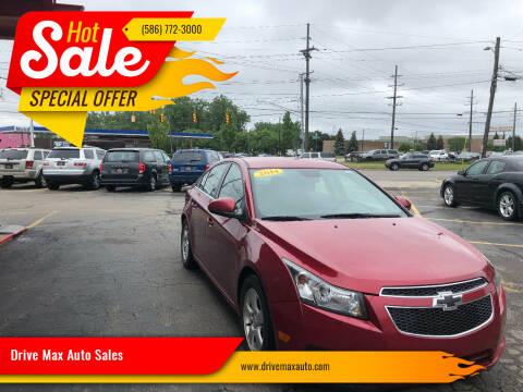 2014 Chevrolet Cruze for sale at Drive Max Auto Sales in Warren MI