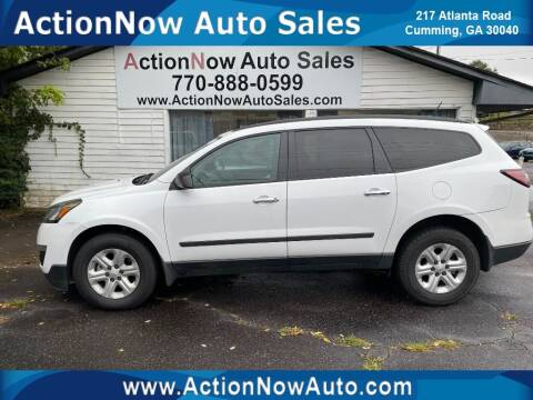 2016 Chevrolet Traverse for sale at ACTION NOW AUTO SALES in Cumming GA