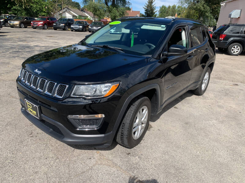 2018 Jeep Compass for sale at PAPERLAND MOTORS in Green Bay WI