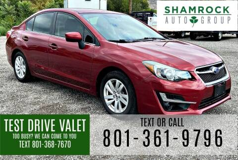 2015 Subaru Impreza for sale at Shamrock Group LLC #1 in Pleasant Grove UT