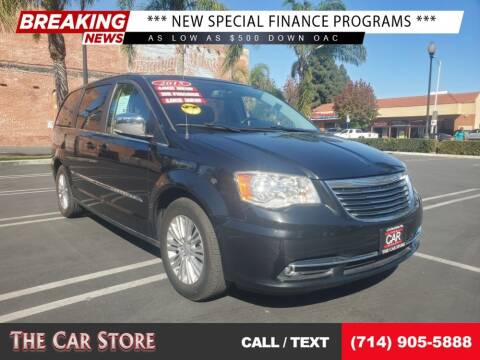 2015 Chrysler Town and Country for sale at The Car Store in Santa Ana CA