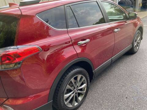 2018 Toyota RAV4 for sale at WHARTON'S AUTO SVC & USED CARS in Wheeling WV