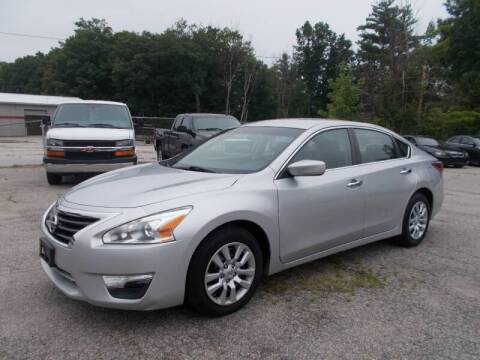 2014 Nissan Altima for sale at Manchester Motorsports in Goffstown NH