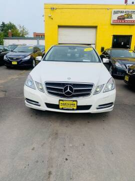 2011 Mercedes-Benz E-Class for sale at Hartford Auto Center in Hartford CT