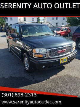 2004 GMC Yukon XL for sale at SERENITY AUTO OUTLET in Frederick MD