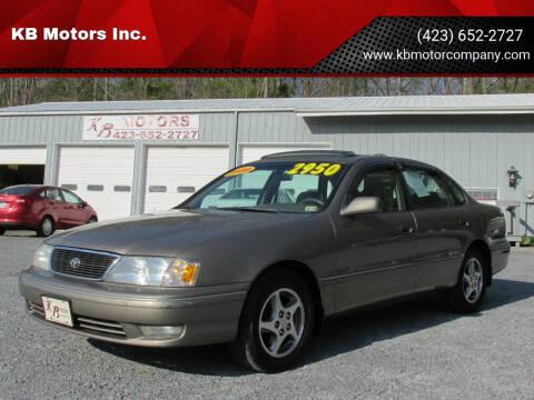 1999 Toyota Avalon for sale at KB Motors Inc. in Bristol VA