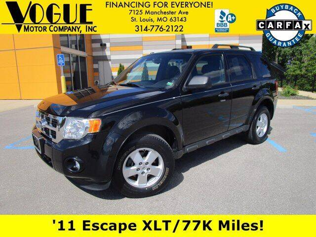 2011 Ford Escape for sale at Vogue Motor Company Inc in Saint Louis MO