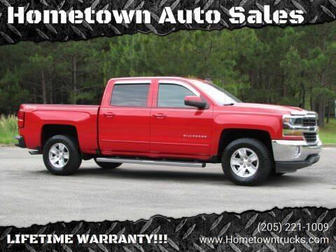 2016 Chevrolet Silverado 1500 for sale at Hometown Auto Sales - Trucks in Jasper AL