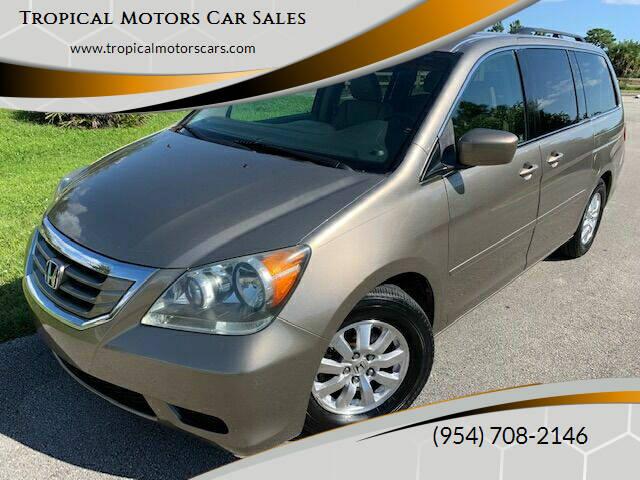 2008 Honda Odyssey for sale at Tropical Motors Car Sales in Deerfield Beach FL