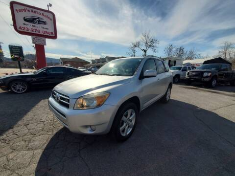 2006 Toyota RAV4 for sale at Ford's Auto Sales in Kingsport TN