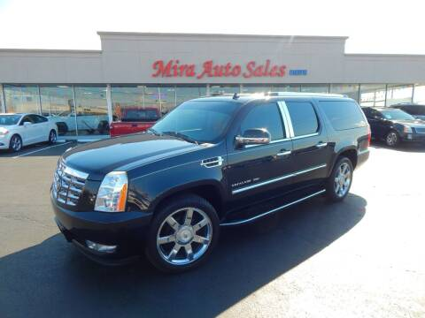 2010 Cadillac Escalade ESV for sale at Mira Auto Sales in Dayton OH