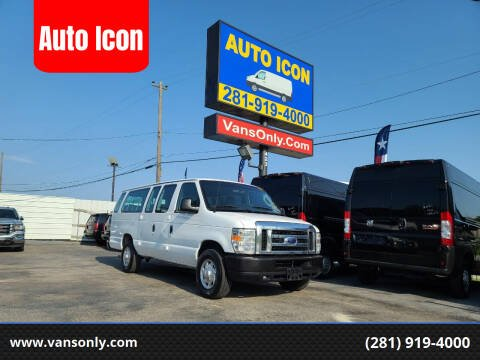 2014 Ford E-Series Wagon for sale at Auto Icon in Houston TX