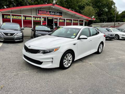 2017 Kia Optima for sale at Mira Auto Sales in Raleigh NC
