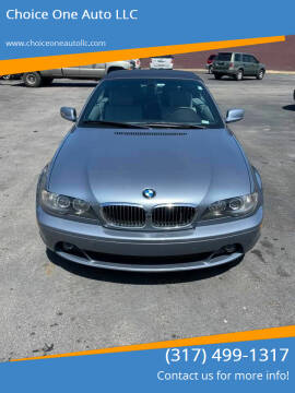 2006 BMW 3 Series for sale at Choice One Auto LLC in Beech Grove IN