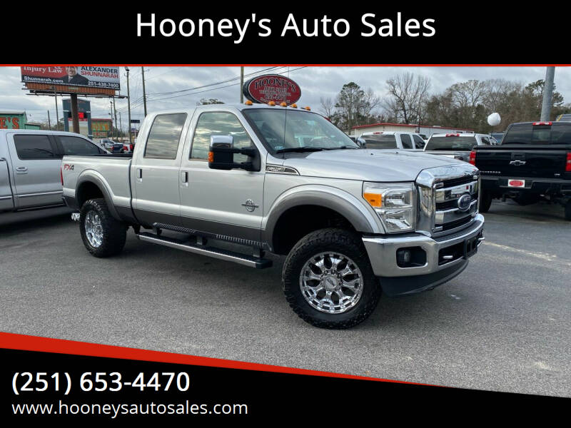 2012 Ford F-250 Super Duty for sale at Hooney's Auto Sales in Theodore AL