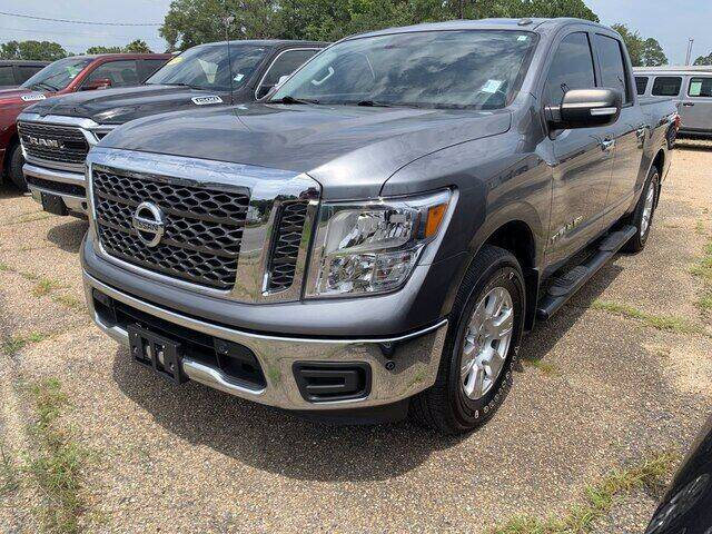 2018 Nissan Titan for sale at CROWN  DODGE CHRYSLER JEEP RAM FIAT in Pascagoula MS