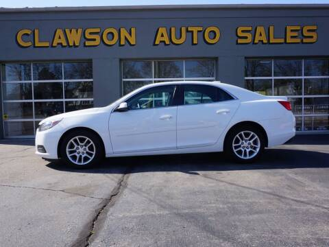 2015 Chevrolet Malibu for sale at Clawson Auto Sales in Clawson MI
