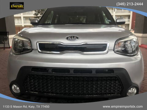 2016 Kia Soul for sale at EMPIREIMPORTSTX.COM in Katy TX