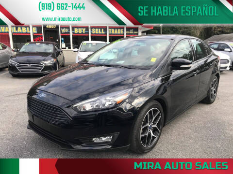 2017 Ford Focus for sale at Mira Auto Sales in Raleigh NC