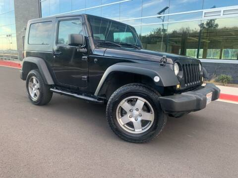 2008 Jeep Wrangler for sale at San Diego Auto Solutions in Escondido CA