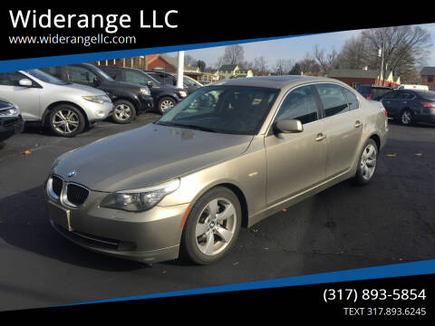 2008 BMW 5 Series for sale at Widerange LLC in Greenwood IN