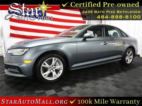 2018 Audi A4 for sale at STAR AUTO MALL 512 in Bethlehem PA