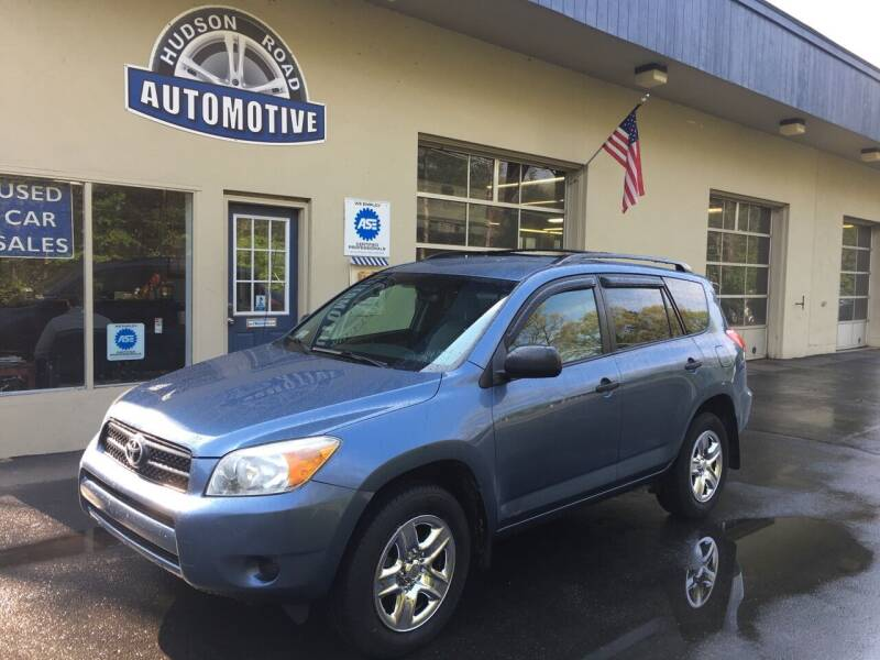 2008 Toyota RAV4 for sale at HUDSON ROAD AUTOMOTIVE in Stow MA