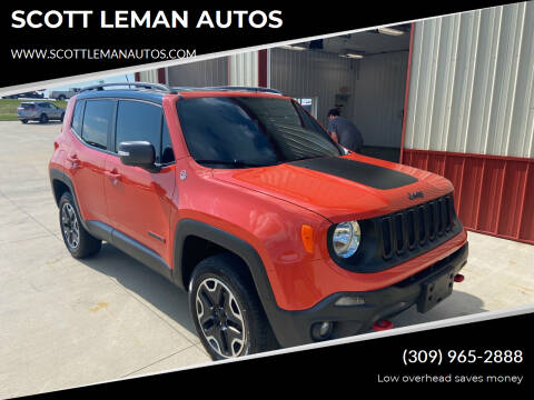 2016 Jeep Renegade for sale at SCOTT LEMAN AUTOS in Goodfield IL