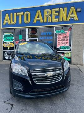 2016 Chevrolet Trax for sale at Auto Arena in Fairfield OH