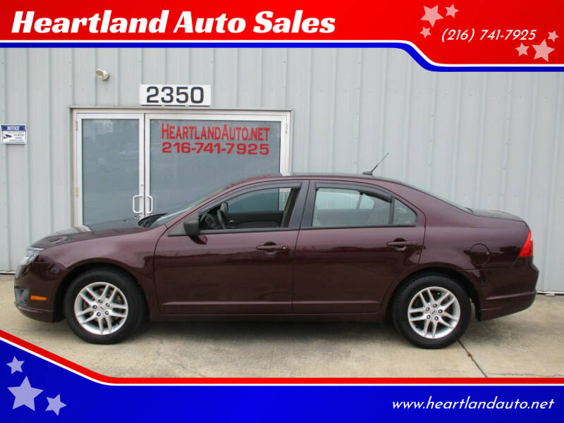 2012 Ford Fusion for sale at Heartland Auto Sales in Medina OH