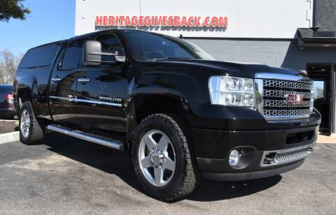 2013 GMC Sierra 2500HD for sale at Heritage Automotive Sales in Columbus in Columbus IN
