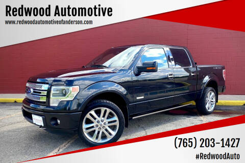 2013 Ford F-150 for sale at Redwood Automotive in Anderson IN