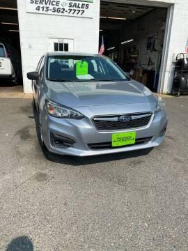 2017 Subaru Impreza for sale at Pikeside Automotive in Westfield MA