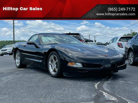2002 Chevrolet Corvette for sale at Hilltop Car Sales in Knox TN