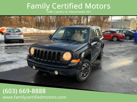 2011 Jeep Patriot for sale at Family Certified Motors in Manchester NH