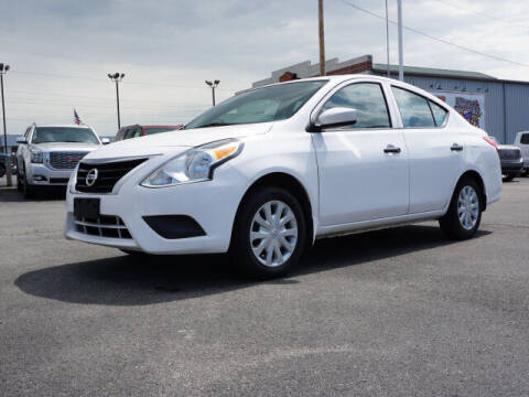2017 Nissan Versa for sale at CHAPARRAL USED CARS in Piney Flats TN