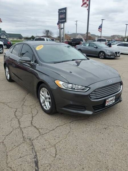 2016 Ford Fusion for sale in Stoughton, WI