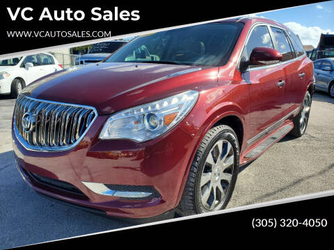 2017 Buick Enclave for sale at VC Auto Sales in Miami FL