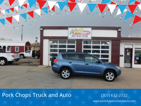 2008 Toyota RAV4 for sale at Pork Chops Truck and Auto in Cheyenne WY