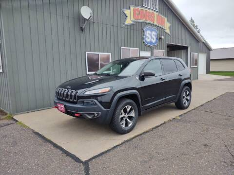 2014 Jeep Cherokee for sale at CARS ON SS in Rice Lake WI
