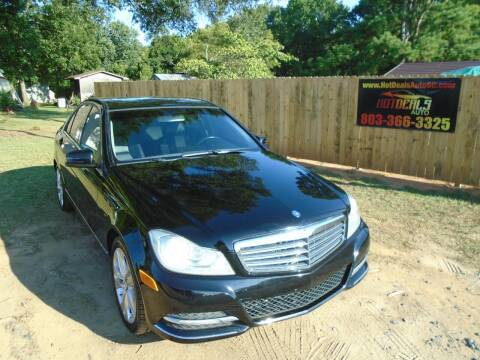 2012 Mercedes-Benz C-Class for sale at Hot Deals Auto LLC in Rock Hill SC
