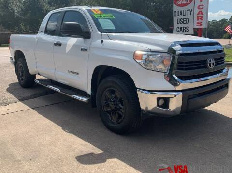 2015 Toyota Tundra for sale at VSA MotorCars in Cypress TX