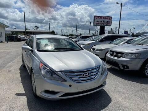 2012 Hyundai Sonata for sale at Jamrock Auto Sales of Panama City in Panama City FL