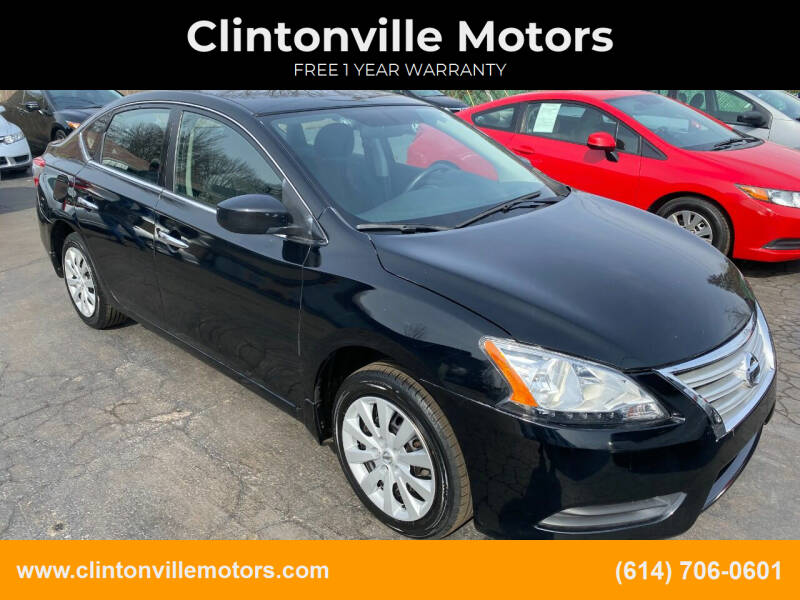 2014 Nissan Sentra for sale at Clintonville Motors in Columbus OH